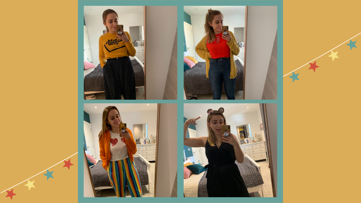 ALL of My Outfits from the Ways to Wear Challenge